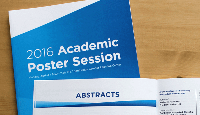 Academic Poster Session Book